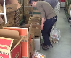 Disaster Relief: Second Harvest Japan Continues to Distribute Food to Evacuees in Ishinomaki, Miyagi Prefecture Every Friday