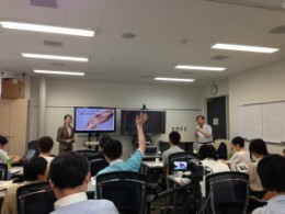 July 13th, 2013 Lecture on Tohoku Earthquake Disaster Relief at Civil Society Forum Hosted by Japan NPO Society