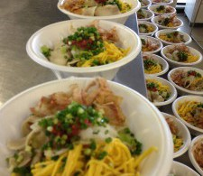 2013 July 8th, 14th Soup Kitchen at Tohoku Earthquake Survivors' Shelter