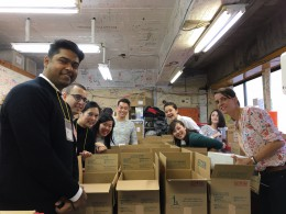 Corporate volunteers help Care Packages to Western Japan Landslides & Flooding victims