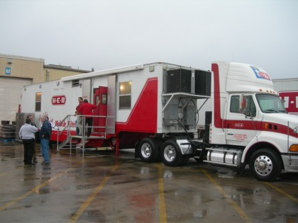 H-E-B mobile kitchen