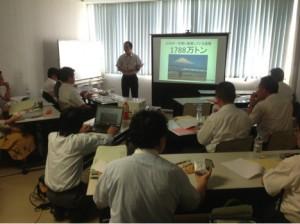 石巻和渕小学校で講演_20140702