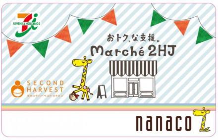 nanacoカード券面イメージ
